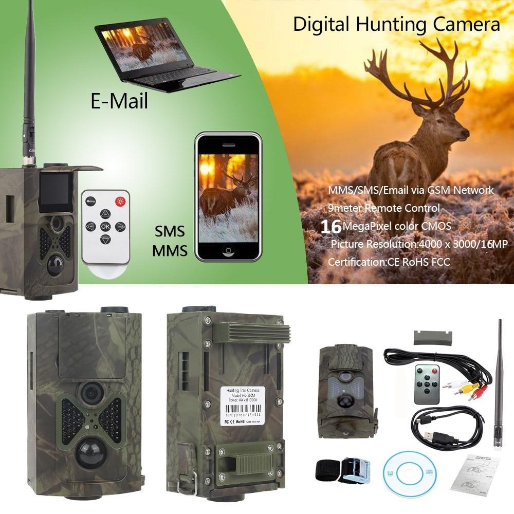 HC-550M MMS rastro cámara infrarroja vida silvestre Video foto 16MP 940nm cámaras...