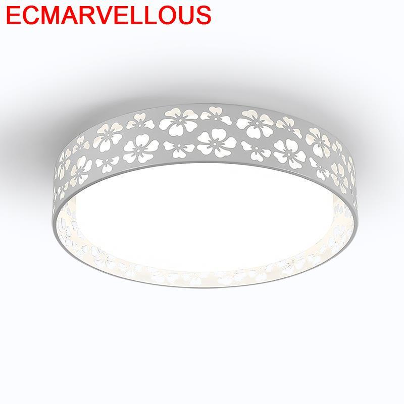Lámpara decorativa Sufitowa para sala De estar Lampara moderna iluminación del hogar Lustre Plafondlamp LED Lampara De Techo Plafonnier