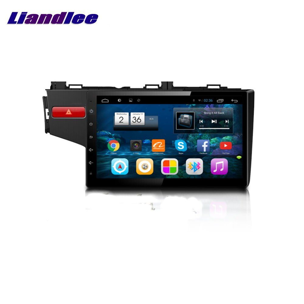 "Coche Android vehículo GPS para Honda Fit 2013-2015 10,1 ""HD capacitiva GPS navegación Radio TV película Android sistema de vídeo"