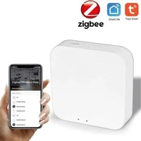 Zigbee     passerelle intelligente 3 0  HUB sans fil  pont de maison  Homekit  application Tuya  telecommande  protocole Zigbee  prise en charge dalexa et Google Assistant