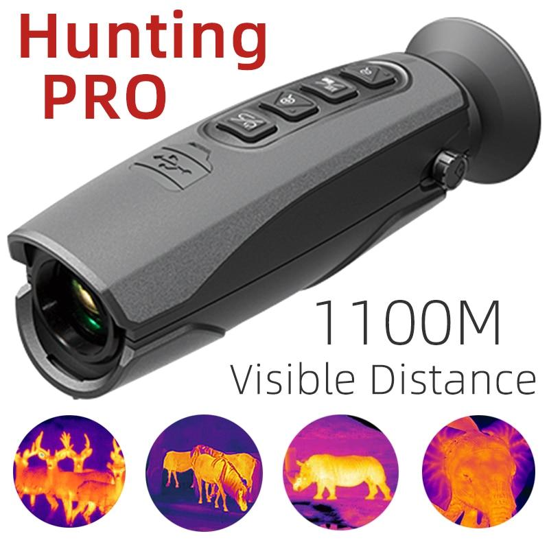 50Hz IP65 كاميرا تصوير حراري بالأشعة تحت الحمراء مع شاشة واي فاي CEM T-72 أحادي العين في الهواء الطلق التصوير الحراري للرؤية الليلية للصيد