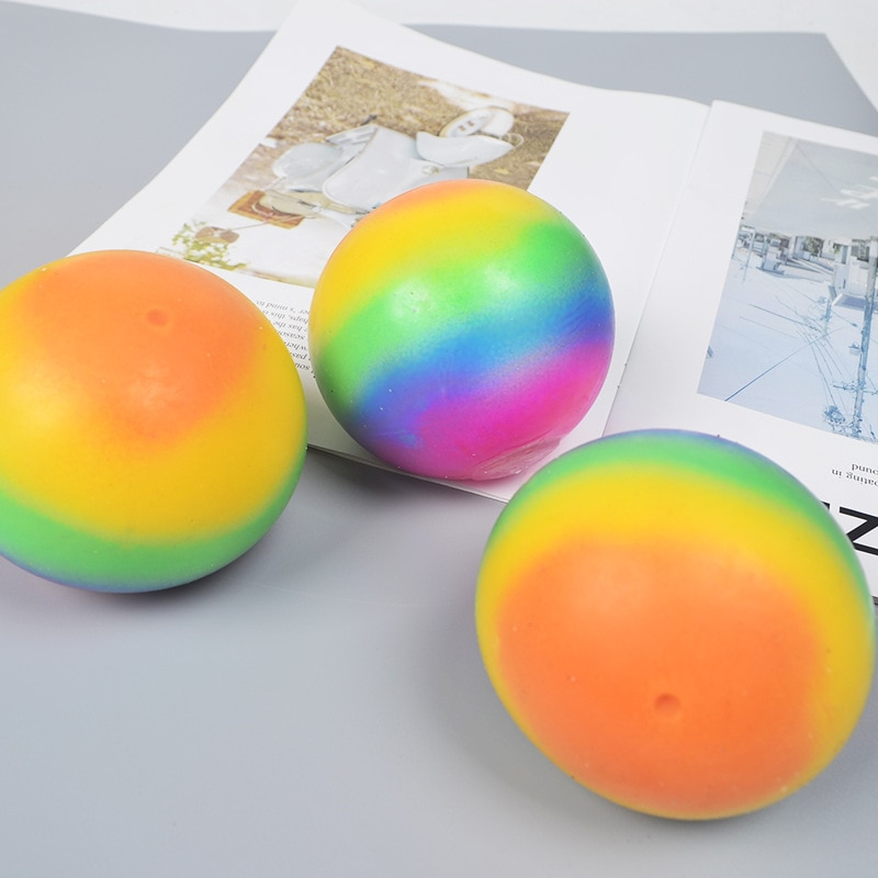 5pcs Fidget Toy Colorful Vent Ball Decompression Toy Men And Women Decompression Toy Grape Balls Relieve Pressure Balls Hand enlarge