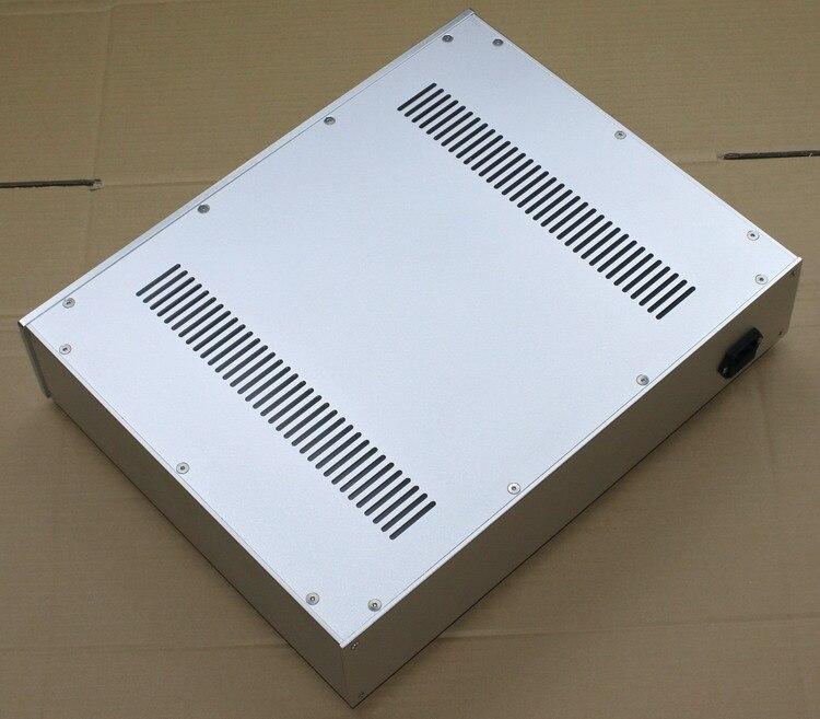Tamaño D208 w116 H50 de aluminio mini pre-carcasa de amplificador WA110 amplificador de potencia preamplificador