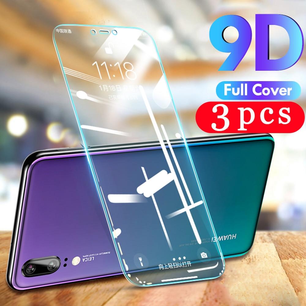 3 uds vidrio templado para huawei mate 30 20 pro lite protector de pantalla del teléfono para huawei mate 20X película vidrio protectora smartphone