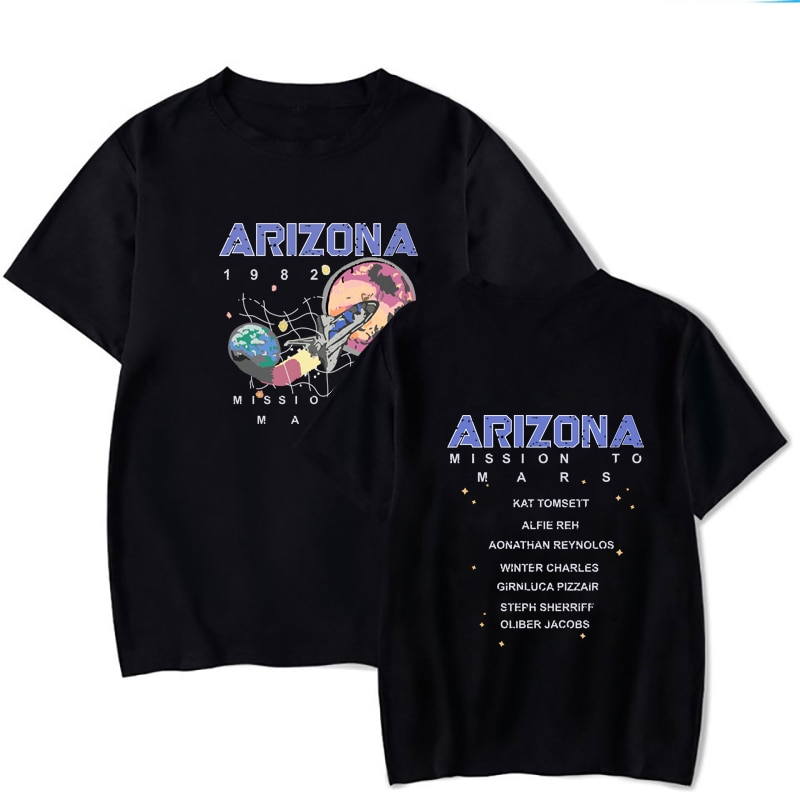 2020 camiseta feminina arizona impressão harajuku impresso t camisas befree solto streetwear verão camiseta ulzzang camisa superior da menina t