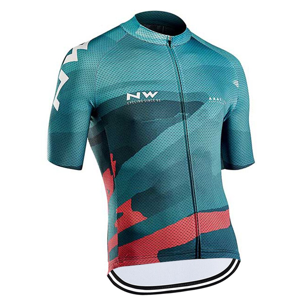 Pro Team NW-camisetas de Ciclismo de manga corta, Jeresy para hombre
