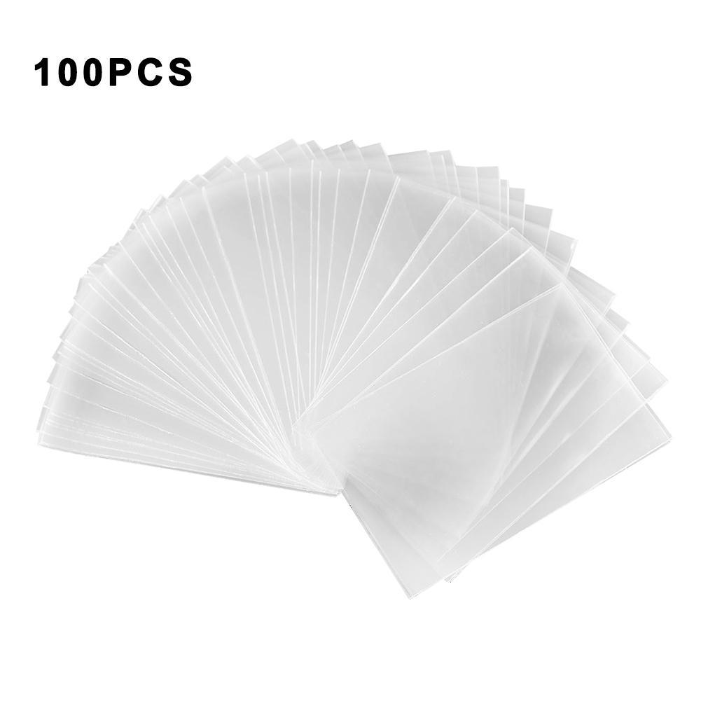 100 Uds 65x90mm Tarot fundas de cartas Protector de escritorio para reunión mágica juego de mesa de cartas accesorios de juego