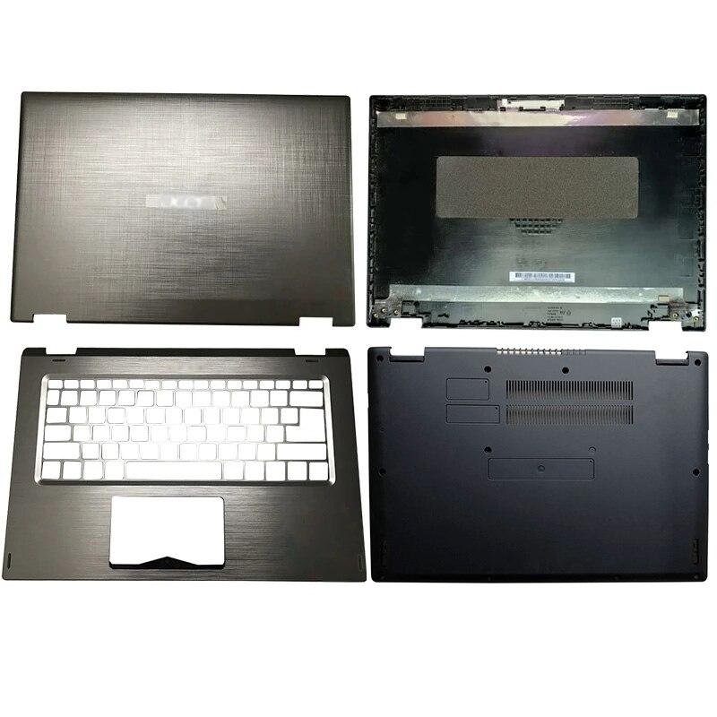 لشركة أيسر سبين 3 SP314-51 SP314-52 N17W5 14 بوصة الوجه شاشة تعمل باللمس محمول LCD الغطاء الخلفي/Palmrest/غطاء سفلي