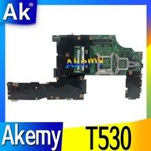 Ordinateur portable dorigine For Lenovo ThinkPad T530 nvidia N13P-NS1-A1 carte mère carte mère FRU 04w6824