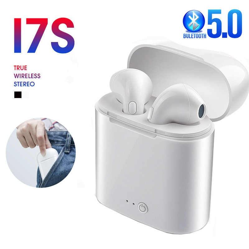 I7s TWS Bluetooth Earphone Stereo Earbud Wireless Headhones In-ear Headsets For All Smart Phone