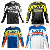 downhill jersey motocross mens mtb shirt motorcycle mx racing cycling dh off road quick dry long sleeve fxr dh bici