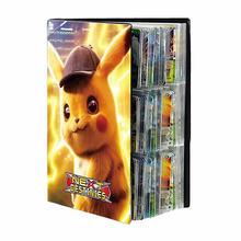 Nuovo 432 pz Pokemon Album libro cartone animato carta mappa cartella scheda di gioco VMAX GX 9 collezione di supporti tascabili elenco caricato Kid Cool Toy Gift