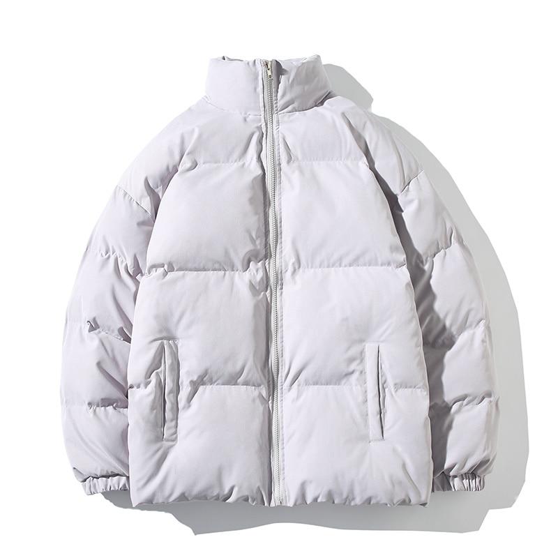 Parkas cálidas para hombre de abrigos de Cotton chaquetas ajustadas... Abrigo acolchado...