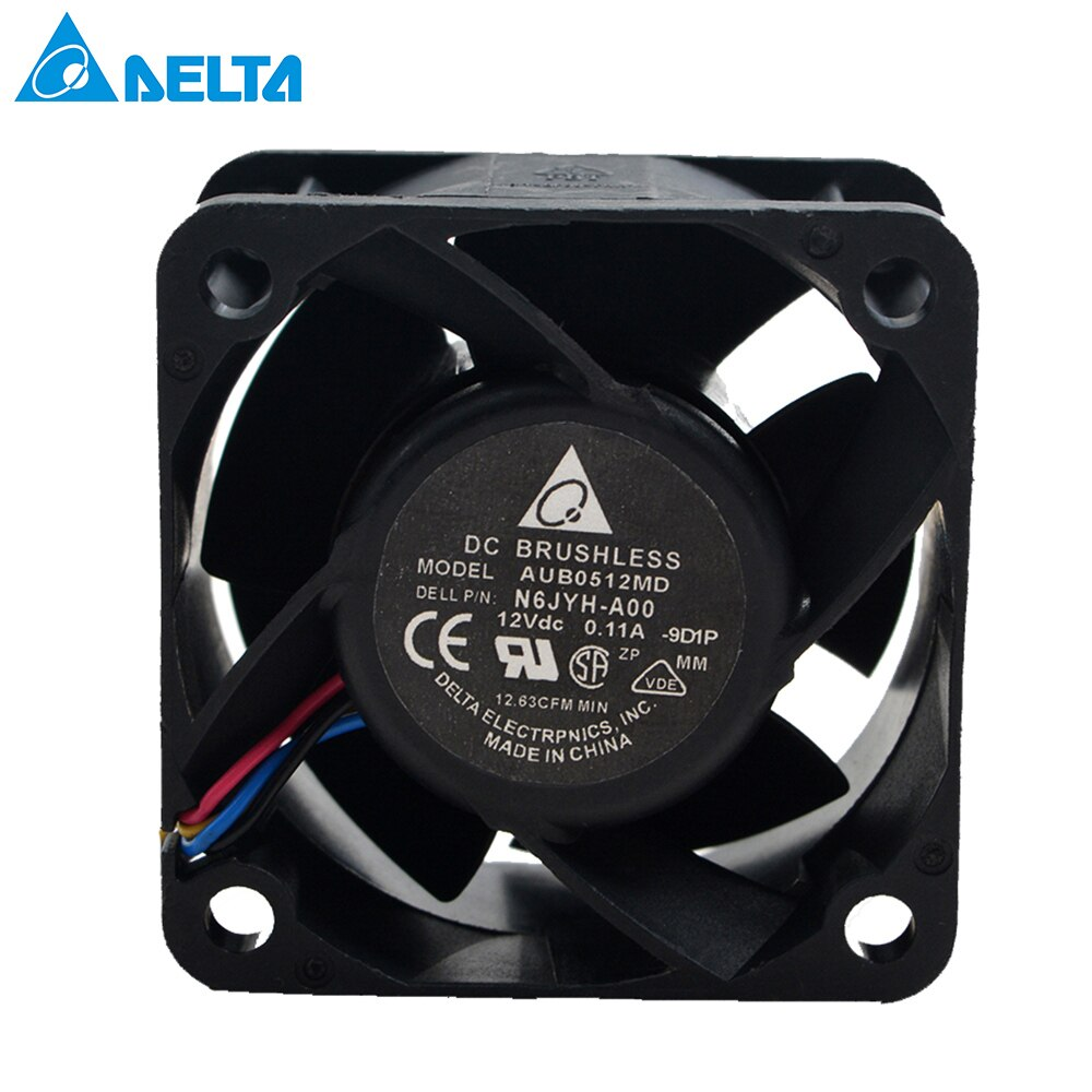 for delta AUB0512MD 5020 DC 12V 0.11A N6JYH-A00 inverter server cooling fan PMW 4 pin emacro fcn dfs501105pq0t fcbq dc 5v 0 5a 4 wire 4 pin 70mm server blower fan