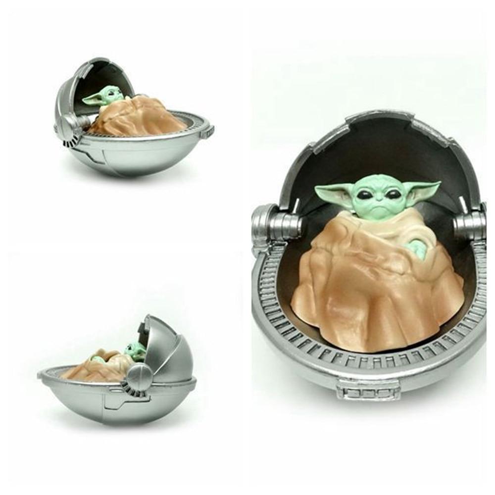 Hasbro Star Wars Anime Figures Master Yoda Grand Master of Jedi Order PVC Cute Toys Action Figma Collector Baby Yoda Model Doll