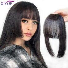XIYUE-flequillo de princesa para mujer, accesorio para el cabello, corte Hime, peinados, Clip en flequillo