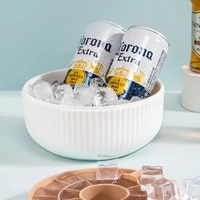 creative double layer ice cube mold safety silicone ice tray ice cube box ice maker household quick freezing artifact ice maker