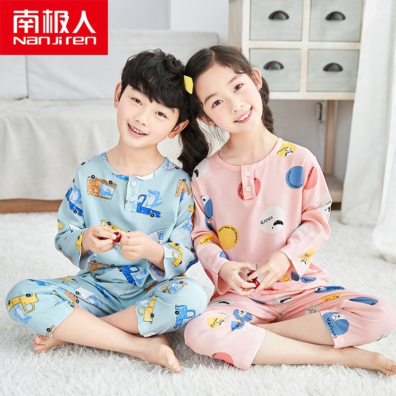 Pijamas NANJIREN para chico s, ropa de dormir para niños, pijamas para bebés, pijamas de animales para niños y niñas, ropa de dormir de algodón para chico
