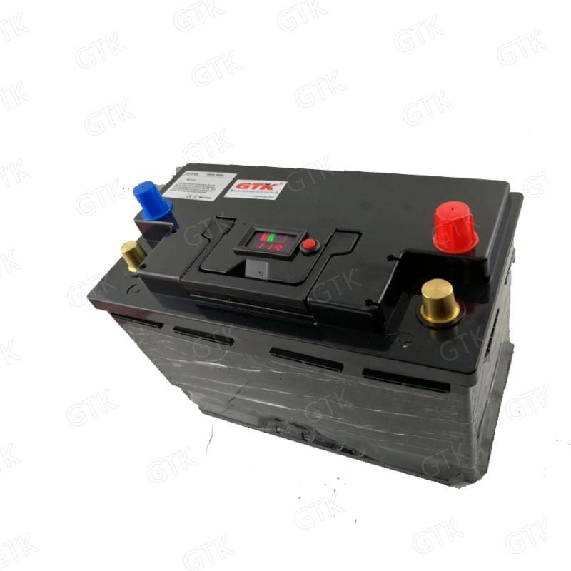 GTK lithium 12V 12.8v 120AH 100Ah 80Ah 130Ah lifepo4 battery deep cycle for 1200W boat inverter subwoofer golf cart +10A Charger enlarge