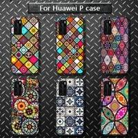 gold foil bling exotic phone case for huawei p40 pro lite p8 p9 p10 p20 p30 psmart 2019 2017 2018