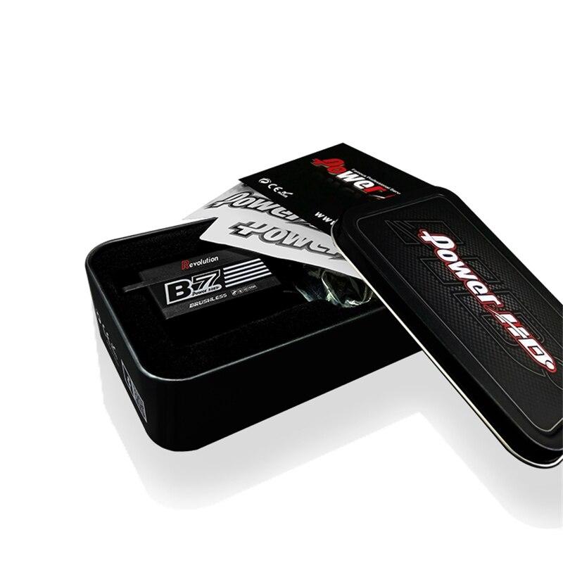Power HD B7 Revolution PRO short body brushless servo high pressure steel tooth Servo Steering gear for RC Car enlarge