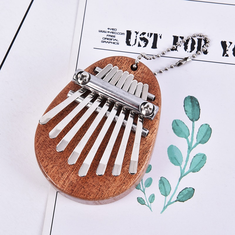 Portable Thumb Piano Crystal Karinba 8-key Mini Thumb Piano Is Very Popular Among Beginners And Can Also Be Given To Children