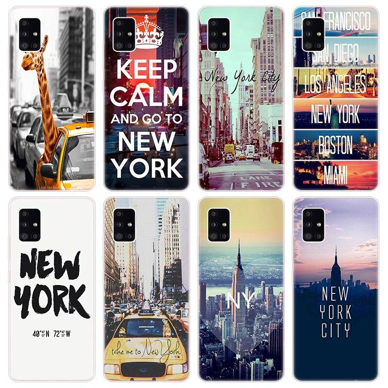 La ciudad de Nueva York, caso suave para Samsung Galaxy A40 A41...