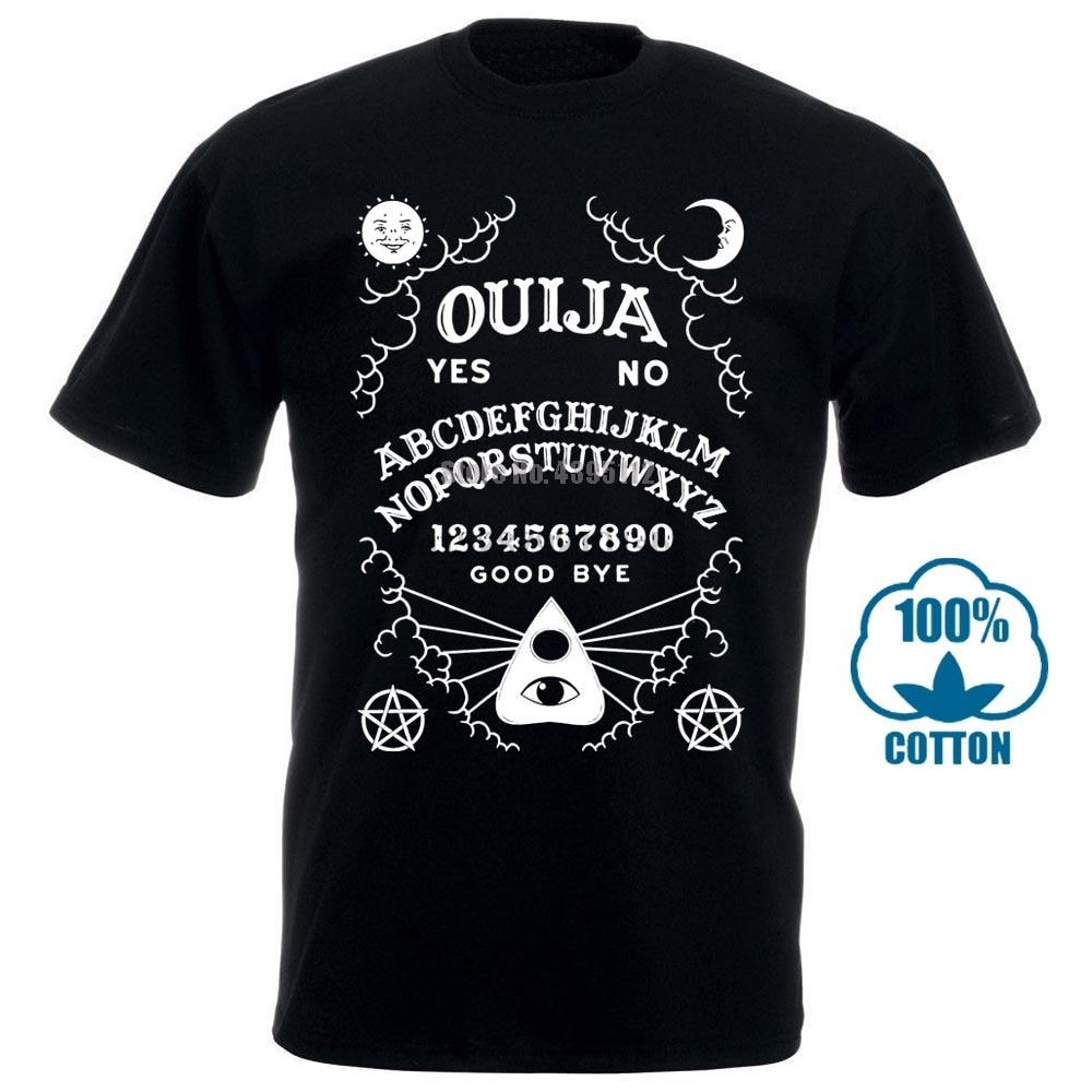 New! Ouija Board T Shirt Black Kill Occult Spirit Pentagram Star Gothic Seance 011275