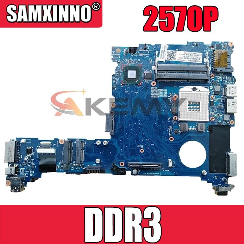 685404-001 685404-501 محمول لوحة رئيسية لأجهزة HP بافيليون 2570P QM77 دفتر اللوحة الأم 695677-001 6050A2483801-MB-A02 DDR3