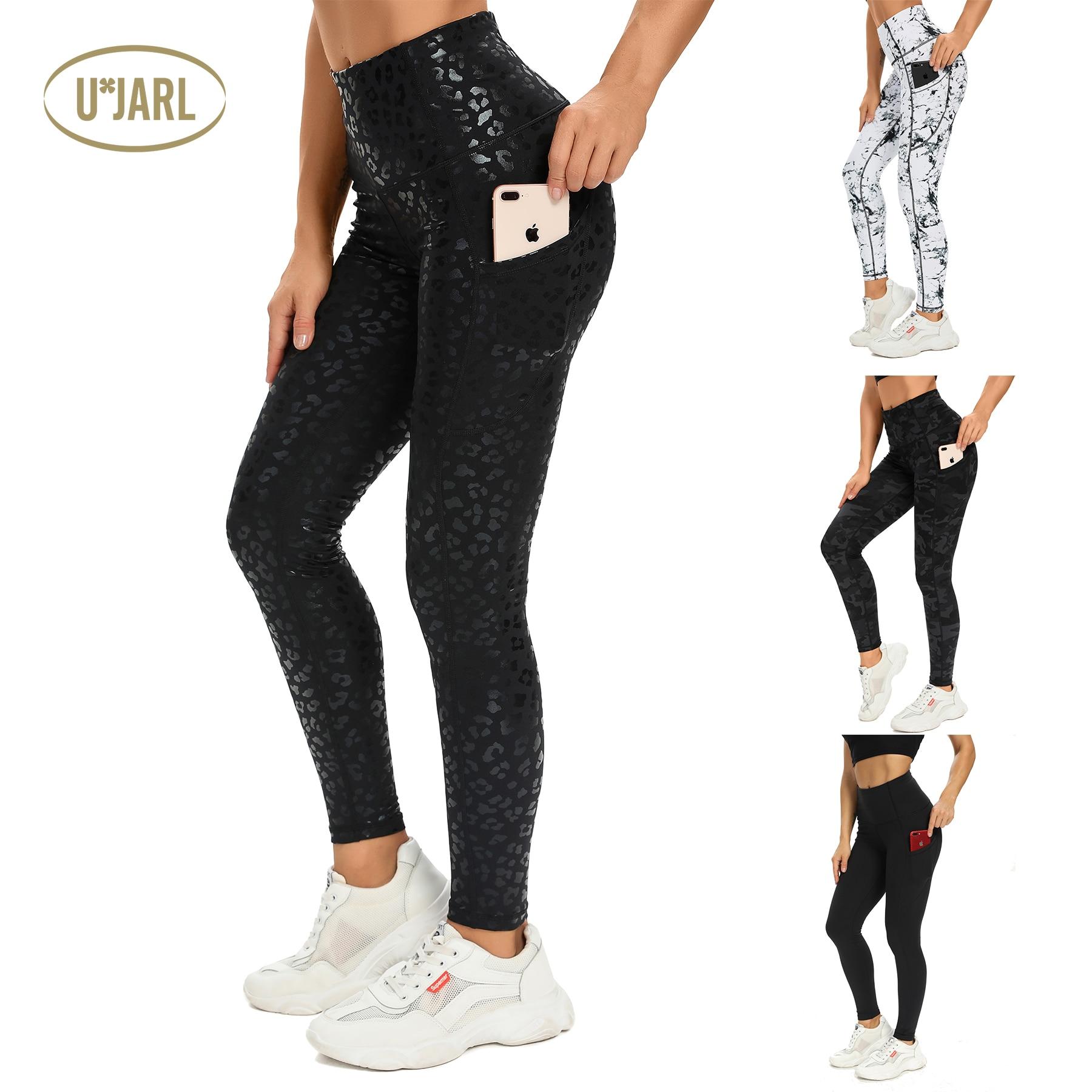UxJARL 2021New Women Seamless Leggings High Waist Legging Workout Running Activewear Yoga Pant Sport