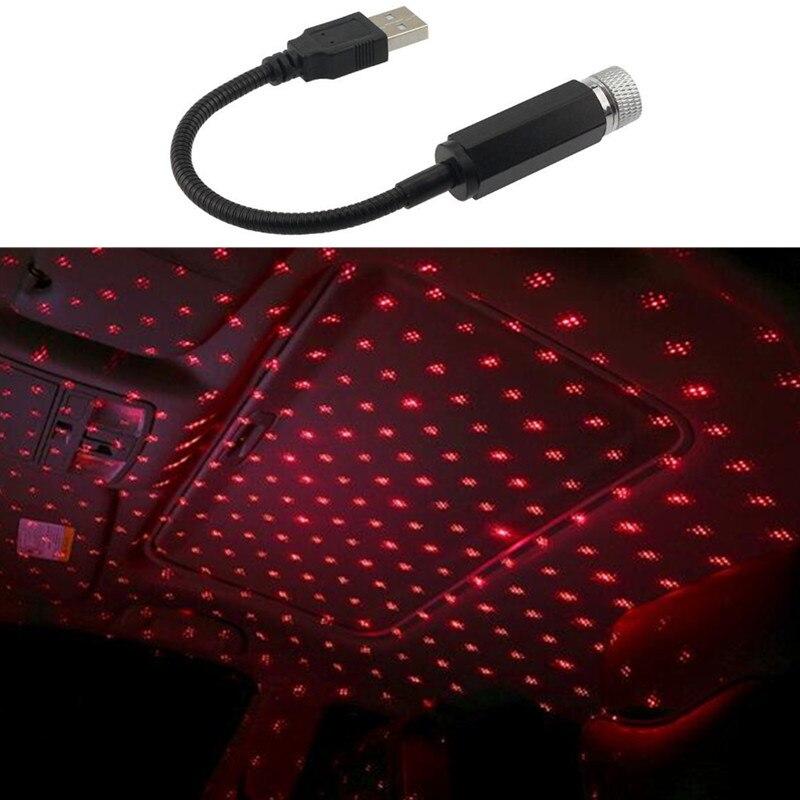 New Car USB LED Roof Star Night Lights Projector Light for Land Rover LR4 LR3 LR2 Range Rover Evoque Defender Discovery