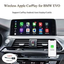 CarPlay pour F20 F21 F44 F52   Connexion sans fil par fil, système BMW EVO Radios de Navigation professionnelles