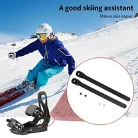 1pair snowboard fastening straps replacement snowboard straps skiing toe strap ladder snowboard belt snowboard fastening belt