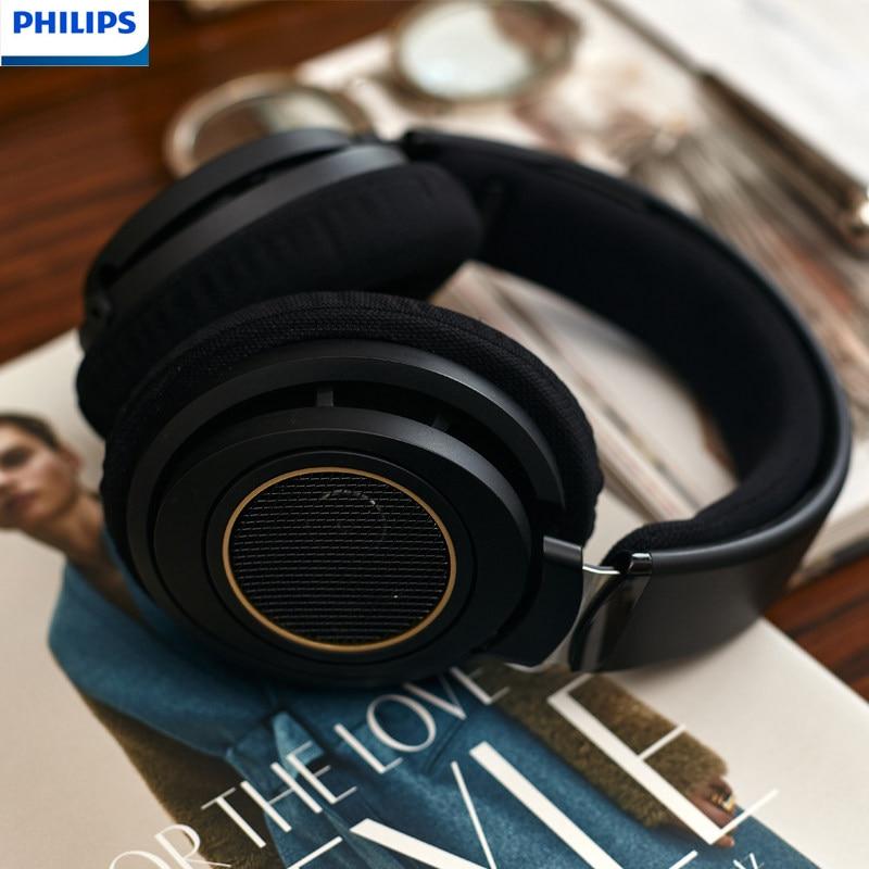 [해외] 필립스-SHP9600 게임용 이어폰 SHP9500, 3m 길이 유선 HIFI 음악 헤드폰, 삼성, 화웨이, 컴퓨터, 안드로이드용