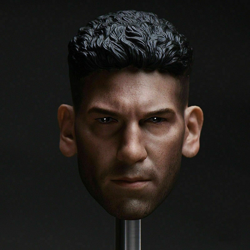 1/6 Jon Bernthal Male Head Sculpt Carved Model Collection for 12