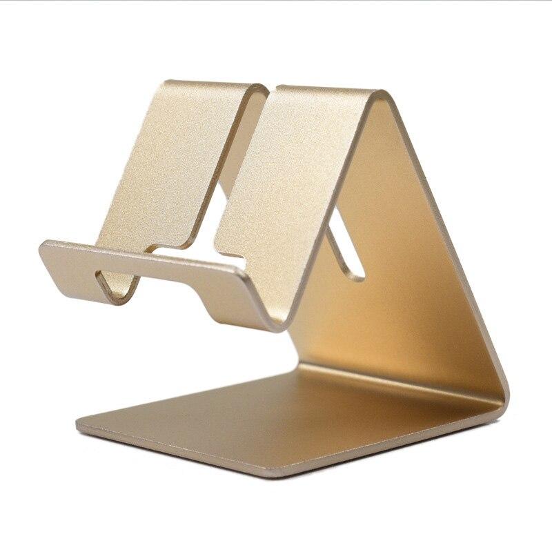Aluminum Table Desk Mount Stand Holder For IPhone 7 6 X Tablet PC Mobile Phone Tablet Holder Phone D