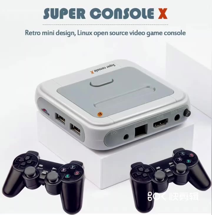 Retro Mini TV/ Video Game Console Super Console X Built-in 50 Emulators with 41000 Games Support HDMI Out With Wireless Gamepad