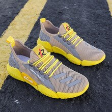 Men's Lightweight Running Shoes Summer Ultra-light Breathable Sneakers Zapatos De Mujer Walking Shoe