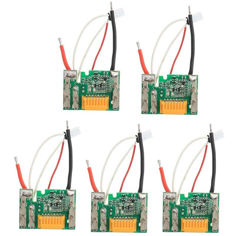 Batería de 18V Chip Placa de PCB de repuesto para Makita BL1830 BL1840 BL1850 LXT400 SKD88-5Pcs