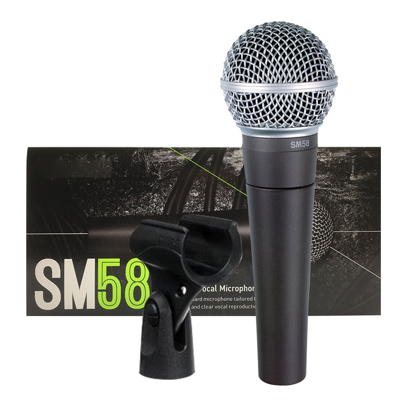 New Packing SM58-LC SM 58 wired dynamic cardioid professional microphone for shure microphone karaoke KTV stage show