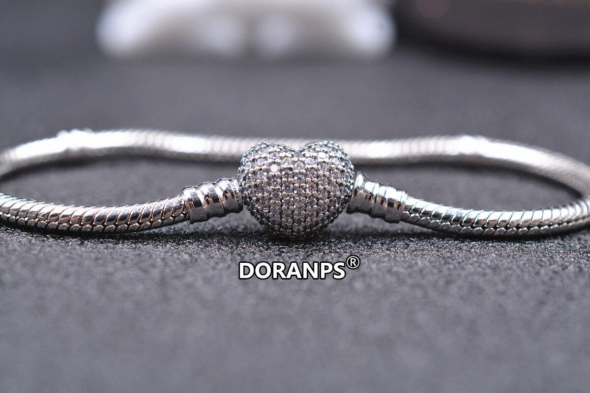 2020 bijoux DORANPS 925 bracelets porte-bonheur femme bracelet petite amie cadeaux, 1pz
