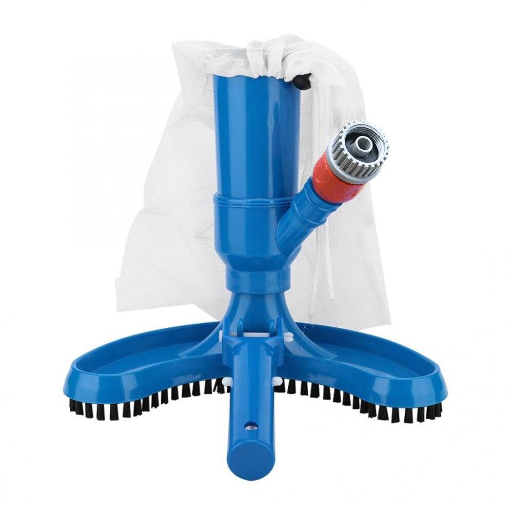 Cepillo de vacío Jet 2020 para piscinas, conjunto de aspiradora con bolsa para cepillos, adaptador de manguera, herramienta de limpieza para piscinas, Spa, estanque, jacuzzi