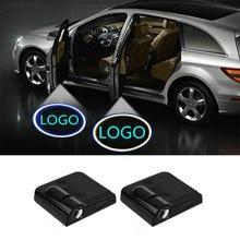 2 uds LED COCHE Luz de bienvenida para puerta logotipo del proyector para Mazda 3 2020 5 6 cx-5 cx5 cx-3 cx3 CX4 2 cx7 cx-7 323 mx5 rx8 atenza cx9 cx-9