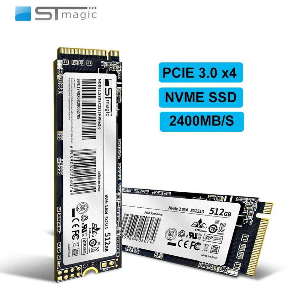 Stmagic SSD M2 NVME 2280 PCIE3.0 X4 128GB m.2 ssd 256GB 512GB 1 تيرا بايت محرك الأقراص الصلبة الداخلي لأجهزة الكمبيوتر المحمول أجهزة سطح المكتب ثلاثية الأبعاد NAND TLC