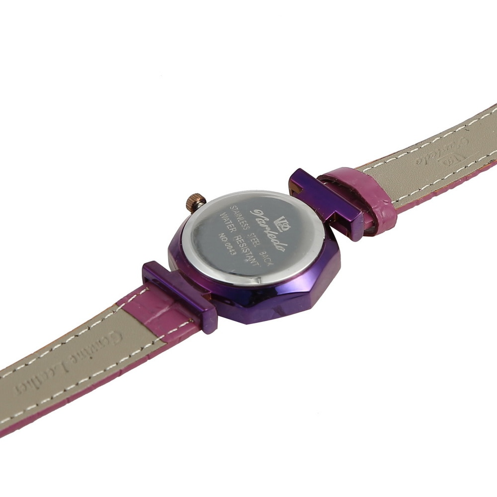 VARLEDO Leather Women  Wrist Watches  Fashion wild New watch Luxury Fashion Ladies Geometric Quartz movement Watch enlarge