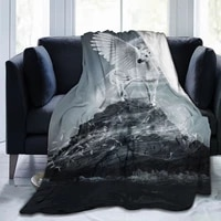 ultra soft sofa blanket cover blanket cartoon cartoon bedding flannel plied sofa bedroom decor for children and adults