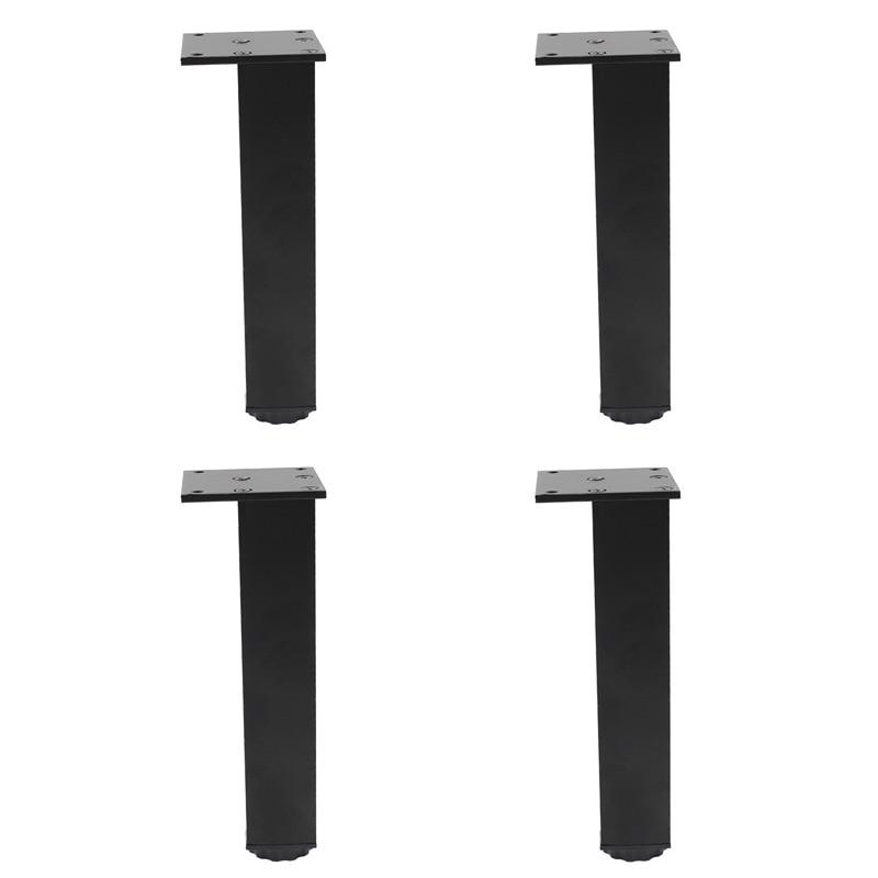 4 шт., подставки из алюминиевого сплава для дивана, кровати, стола, телевизора, шкафа, кушетки, комода, стола, 20 см