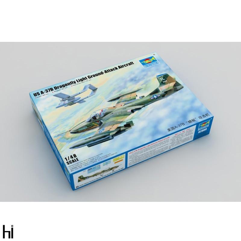 Trumpeter 1/48 02889 Cessna A-37B libellule attaque avion militaire en plastique assemblage maquette Kit de construction