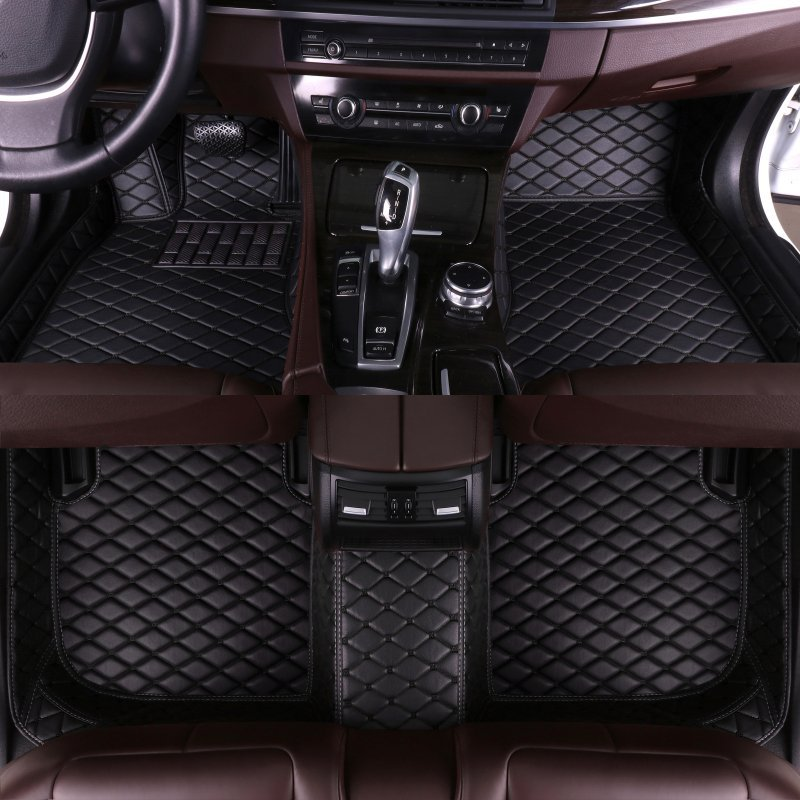 Custom Car Floor Mats for MG MG7 MG3 MG5 GT ZS MG6 HS car styling auto accessories