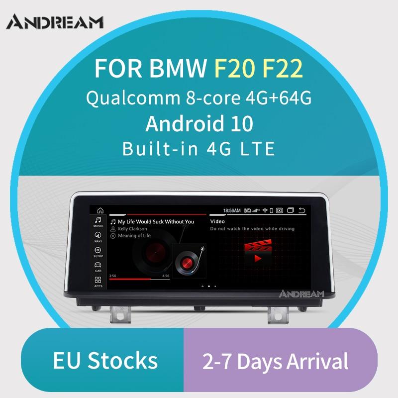 Pantalla de 8,8 pulgadas, procesador Qualcomm qcta-core, Android 10, 4G + 32G, reproductor Multimedia para BMW Serie 1, 2, F20, F22, 2011-2017, NBT, WIFI, Bluetooth, navegación GPS